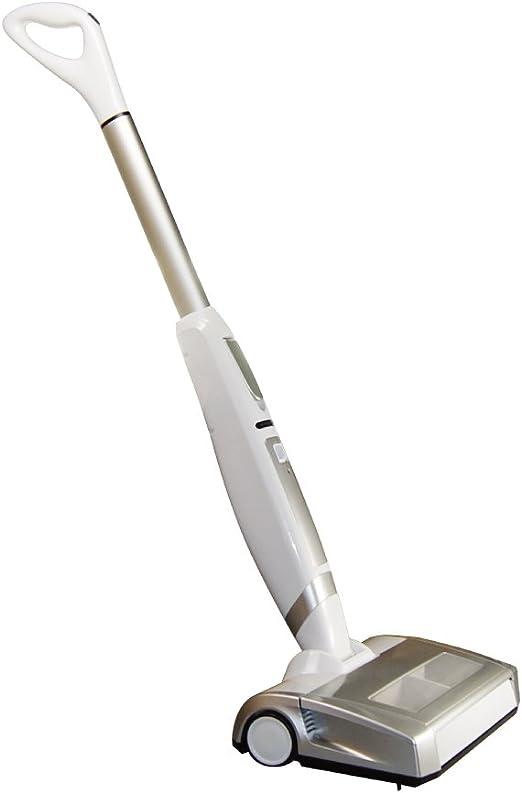 Evertop inalámbrico vertical stick aspiradora escoba para suelo duro y fina alfombra, color blanco, plástico, Business Style: Amazon.es: Hogar