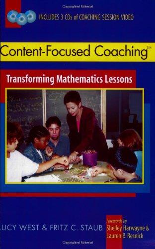 Content-Focused Coaching: Transforming Mathematics Lessons