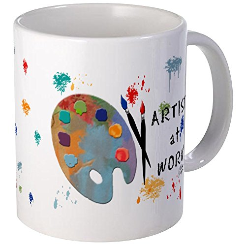 CafePress - Artist At Work Mug - Unique Coffee Mug, Coffee Cup