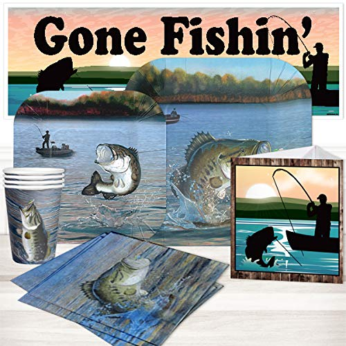Birthday Direct Bass Fishing Party Package for 16 Guests -