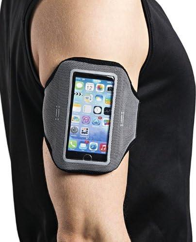 Aiino Fascia Braccio per iPod Touch E iPhone Nero Accessorio per Cellulare Smartphone