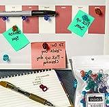 Magnetic pins for board 50-pack [Calendar Magnets, Fridge Magnets, Photo Magnets]. Favorite colors!