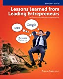 Instructor's Manual: Lessons Learned from Leading Entrepreneurs, Todd Finkle, 146379715X