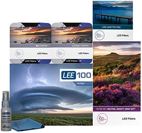 LEE Filters LEE100 67mm ランドスケープ プロキット - LEE100 フィルターホルダー Lee 100mm ソフトエッジセット グラデーションNDフィルター LEE 100mm ビッグストッパー リトルストッパー 67mm 広角アダプターリング