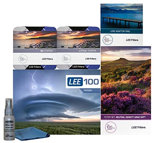 LEE Filters LEE100 67mm Landscape Pro Kit - LEE100 Filter Holder, Lee 100mm Soft Edge Set Graduated ND Filters LEE 100mm Big Stopper and Little Stopper and 67mm Wide Angle Adapter Ring by Lee Filters (Image #7)