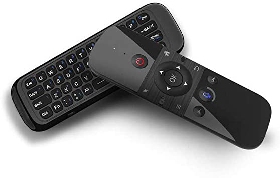 Godyluck- 2.4G Air Mouse Teclado inalámbrico Control de Voz Sensor de Movimiento de 6 Ejes Control Remoto de Aprendizaje IR para Smart TV Android TV Box PC: Amazon.es: Electrónica