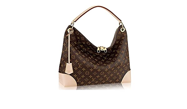 84683f0c2fa5 Authentic Louis Vuitton Monogram Canvas Berri MM Handbag Article M41625 Made  in France  Handbags  Amazon.com
