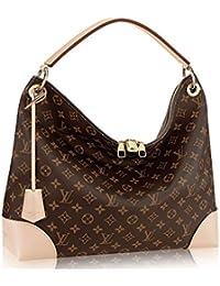 Authentic Louis Vuitton Monogram Canvas Berri MM Handbag Article:M41625 Made in France