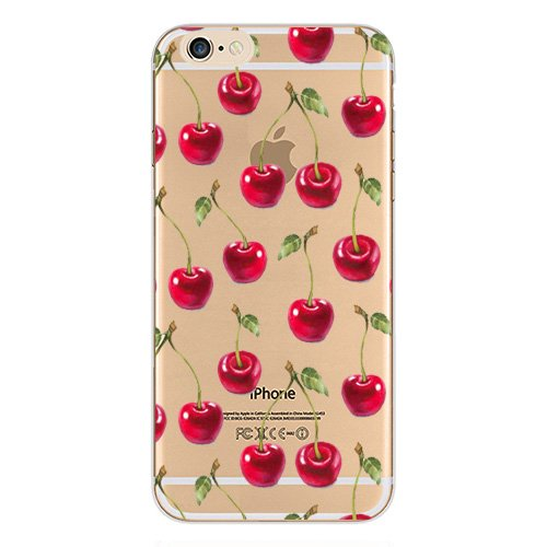 best cheap fc6c5 42cf4 iPhone 7 Case,New Hybrid Fruits and Flowers Series Transparent Clear ...