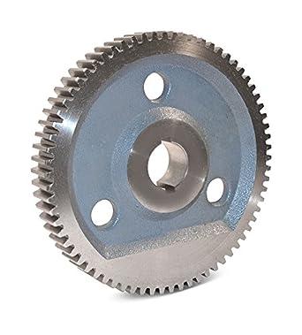 16 Pitch Boston Gear GB79B Plain Change Gear 14.5 Degree Pressure Angle 0.750 Bore 79 Teeth Cast Iron