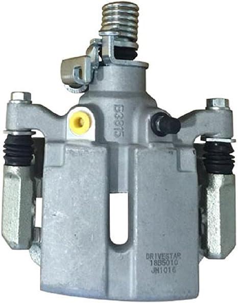 REAR Original Remanufactured Calipers + CCK02603 4 2 Low Dust Ceramic Brake Pads OE Rotors + 2
