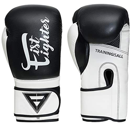 XGRIPE Boxing Gloves for Training Muay Thai Artificial PU Flex Leather Infused Gel Gloves for Sparring Kickboxing and…