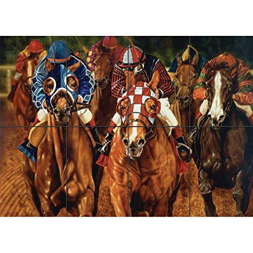 HORSE RACING NEW GIANT POSTER WALL ART PRINT PICTURE G497 -