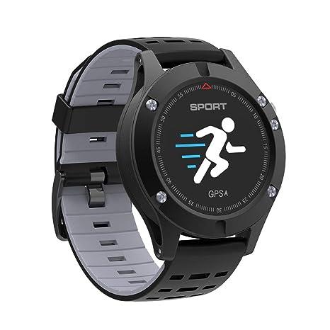 WARM ROOM GPS SmartWatch, Reloj de Ritmo cardíaco, podómetro Reloj ...