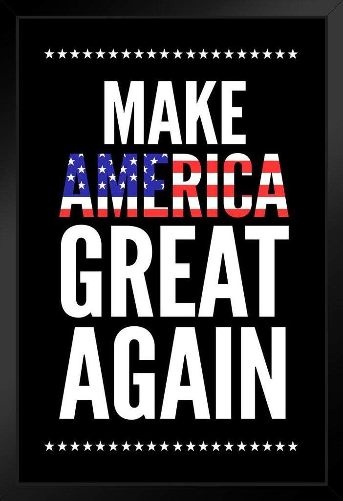 Make America Great Again Trump Flag Campaign Cool Huge Large Giant Poster Art 36x54