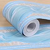 SimpleLife4U Blue Bowknot Pattern Removable