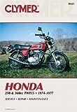 Clymer Repair Manual for Honda 250-360 Twin 74-77