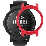 Ticwatch E Case SIKAI Anti-Scratch Protective Bumper Cover Ticwatch E Smart Watch Ultra Light Multi-Colors (Red)