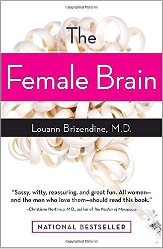 the female brain louann brizendine m d 9780767920100 books the female brain louann brizendine m d 9780767920100 books amazon ca