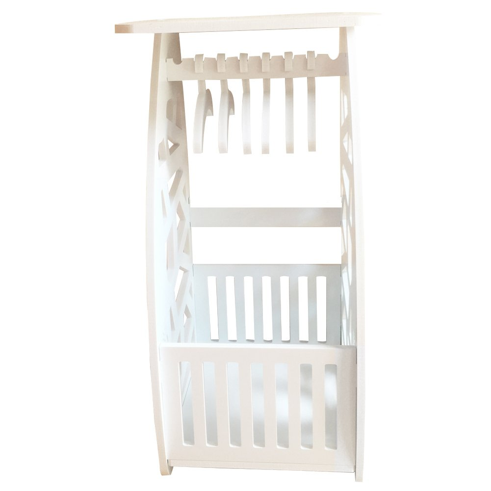 Creation Core Adorable Dog Cat Wardrobe Closet with 8 Clothes Hangers Fashion Pet Puppy Accessories Organizer