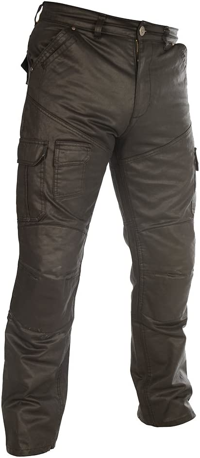 OXFORD Motorbike Motorcycle Aramid SP-J6 Aqua Cargo Pants Trousers Black 30//33