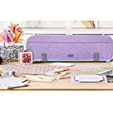 Luxja Dust Cover Compatible with Cricut Explore Air and Explore Air 2, Dust Cover with Back Pockets for Accessories, Lavender