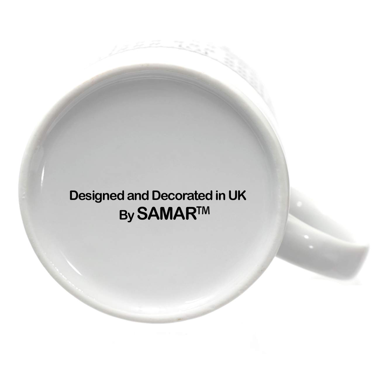 Personalised Mug - Add Your Text, Picture, Design or Logo on This Ceramic Coffee Mug 11oz. Customised Gift idea for Birthday, Wedding, Anniversary and for Other Special Moments