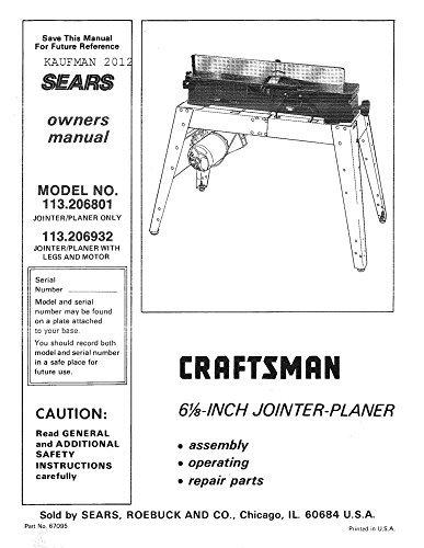 - 1985 Craftsman 113.206932 6 1/8