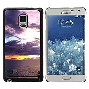 rígido protector delgado Shell Prima Delgada Casa Carcasa Funda Case Bandera Cover Armor para Samsung Galaxy Mega 5.8 9150 9152 -Sunset Sea Ocean Romantic Nature Summer-
