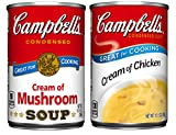 Campbell's Condensed Soup, Variety Pack, 10.5 Ounce (Pack of 6)