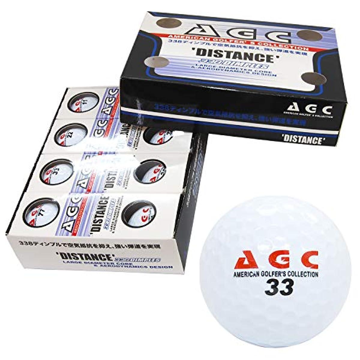 [해외] LEZAX(레작스) 골프 볼AGC 2피스 1다스(12개 들이) AGBA-4714
