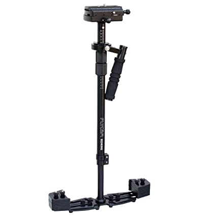 Flycam Redking Video Camera Handheld Stabilizer with Carry Bag for DSLR (Black) Video Camera Stabilizers & Supports at amazon