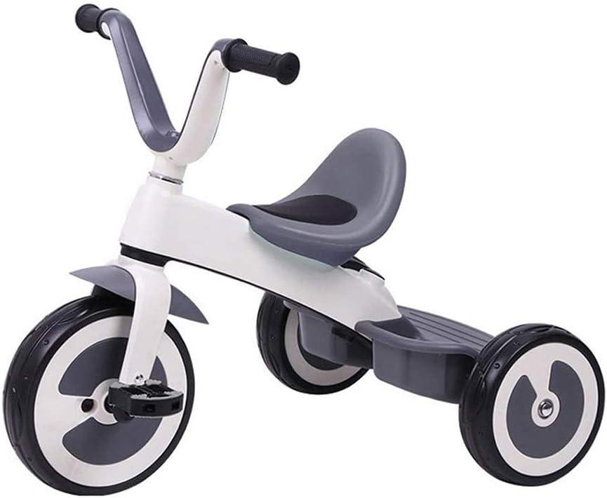 HYDDG Juguetes Niñito Triciclo con Pedales - Paseo En Triciclos para Pequeña Niños y Niños - Edad 2 años, Tres Años y Arriba - Baby's Primero Bicicleta