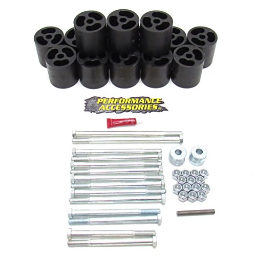Performance Accessories (523) Body Lift Kit for Chevy/GMC