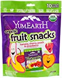 YummyEarth Organic Fruit Snacks, 6.2 oz ( Packaging May Vary )