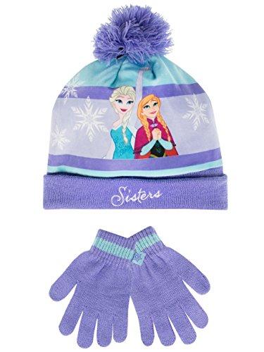 Disney Frozen Girls' Disney Frozen Hat and Gloves Set Size 6 - 8 - Elsa Hat