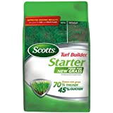 Scotts Turf Builder Lawn Food - Starter Food for New Grass, 1,000-sq ft (Lawn Fertilizer for Newly Planted Grass) (Not Sold in Pinellas County, FL)