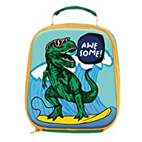 Kids Insulated Dinosaur Lunch Box 3D Design Water Resistant, for Boys and Girls, Perfect for Hot and Cold Snacks