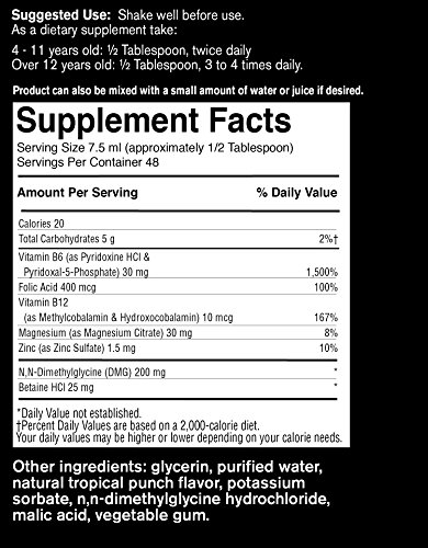 FoodScience of Vermont Behavior Balance-DMG Liquid, Behavior Support