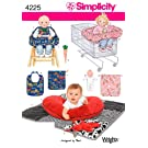 Simplicity Designed by Teri Pattern 4225 Baby Pillow Cover, Seat Covers, Bibs, Toys and More