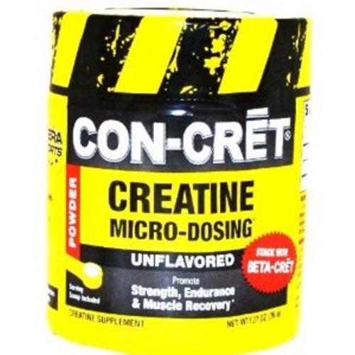 Con-Cret créatine avec micro-dosage Unflavored 48 portions, 1,27 once bain
