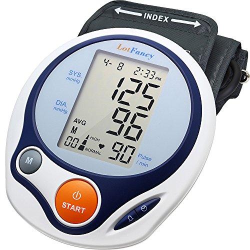 Blood Pressure Monitor by LotFancy, Upper Arm Cuff , Digital