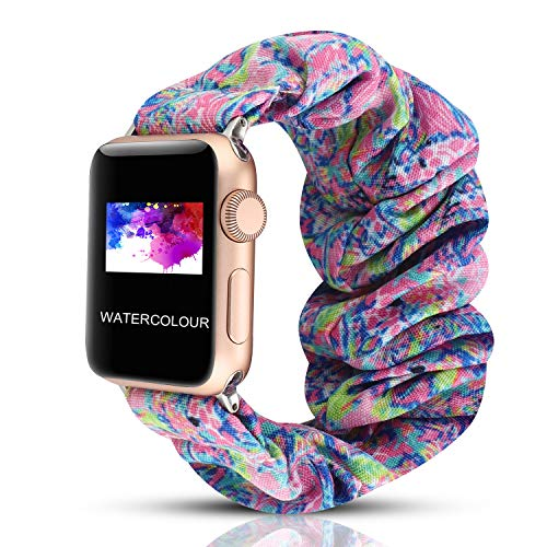 Scrunchie Correa elástica para Reloj, Compatible con Apple Watch ...
