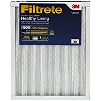 Filtrete MPR 1900 14 x 24 x 1 Healthy Living Ultimate Allergen Reduction AC Furnace Air Filter, 2-Pack