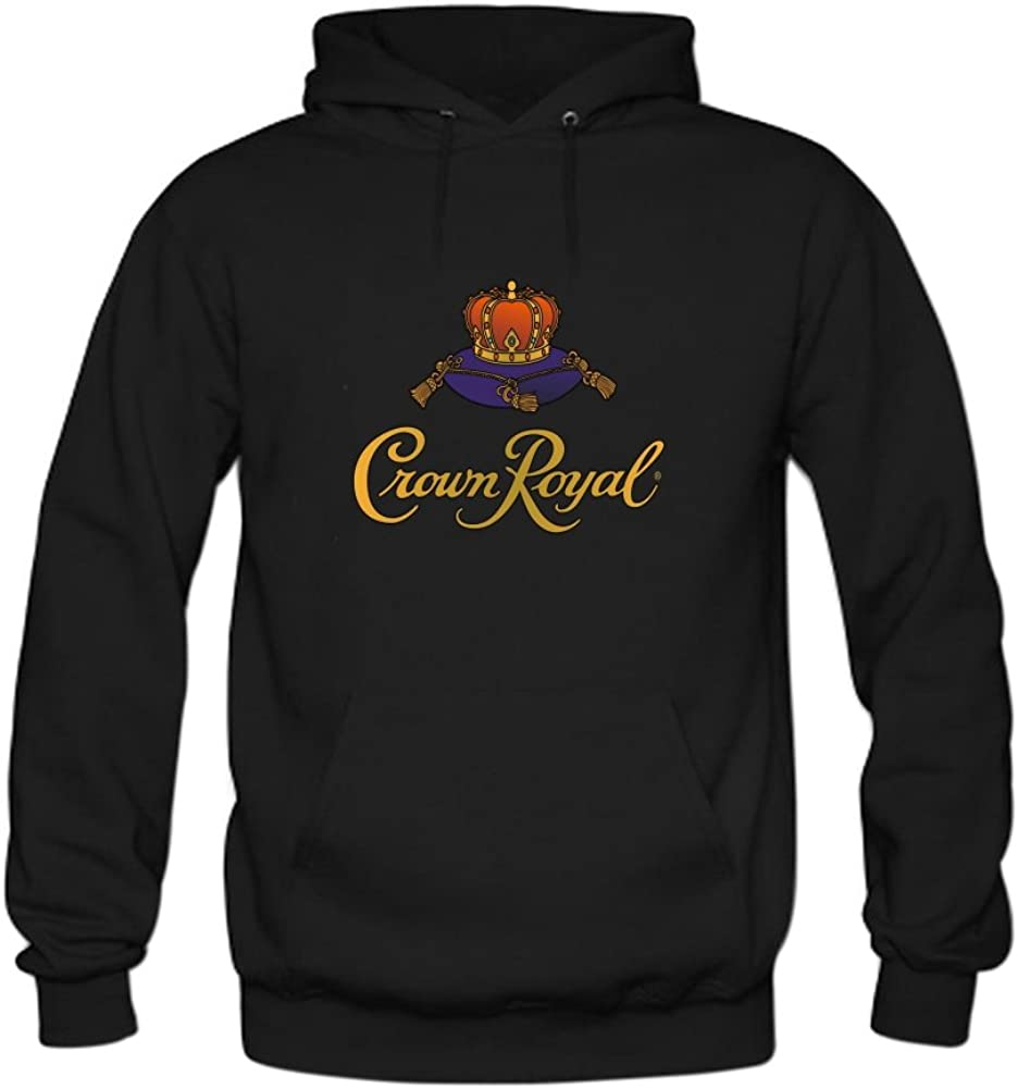 Men's Crown Royal Cotton Fashion Hoodied Sweatshirt