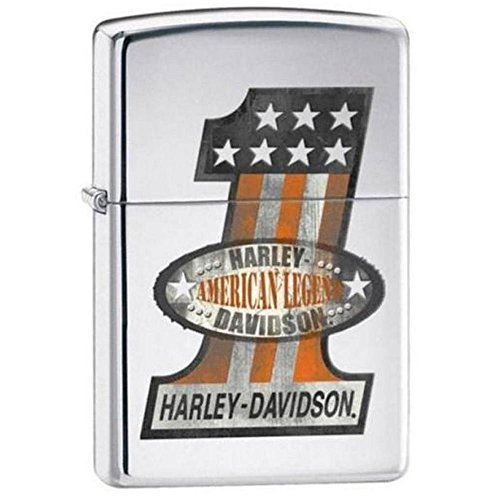 Zippo Harley Davidson #1 American Legend High Polished Chrome