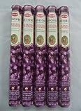 HEM Precious Lavender 100 Incense Sticks (5 x 20 stick packs)