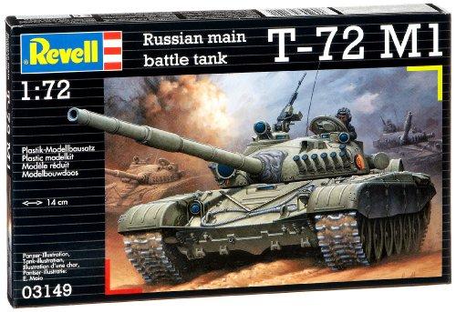 Revell 03149 Soviet Battle Tank T-72 M1 Model Kit for sale  Delivered anywhere in USA