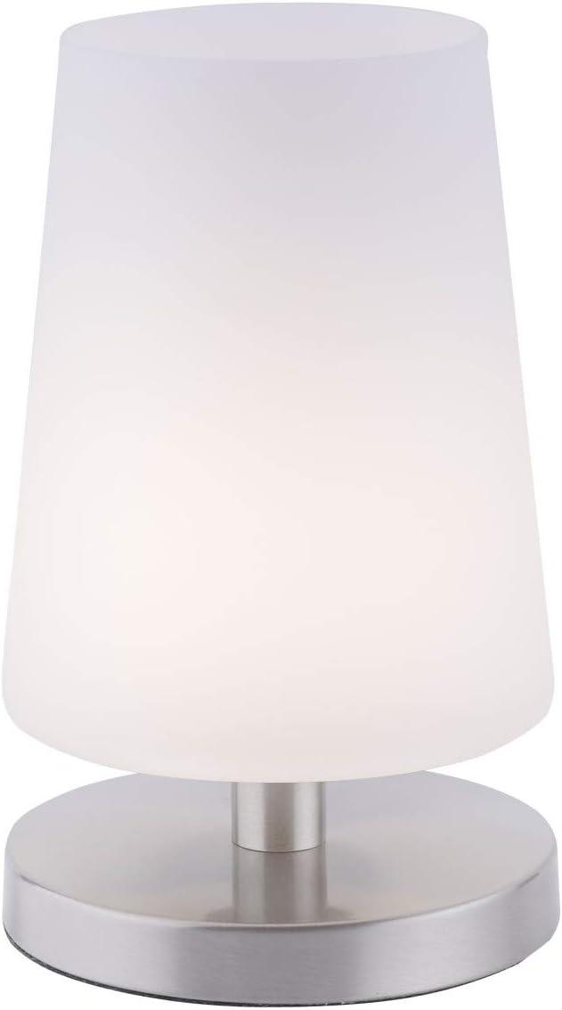 LED Tischleuchte Paul Neuhaus Alex 4590-18 Beistelllampe Dimmbar Schwarz