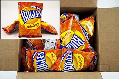 Bugles Nacho Cheese, 1.5 Ounce -- 36 per case.
